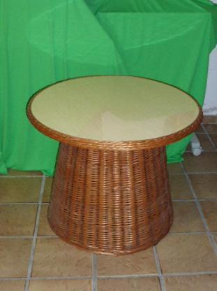 Tisch Flechttisch