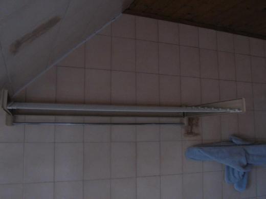 """LEIFHEIT Handtuchhalter mit ausklappbarer """"Wäscheleine"""" - Bremen"""