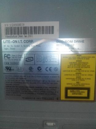 Lite-On DVD-ROM Drive LTD-122 CD/DVD/R IDE - Verden (Aller)
