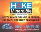 Heizöl, Heizölnotdienst Bremen günstig von Hake Mineralöle Bremen - Bremen