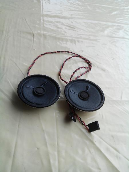 8 ohm 0 5 watt 2 x st ck interne pc lautsprecher. Black Bedroom Furniture Sets. Home Design Ideas