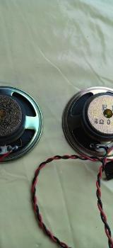 8 Ohm 0.5 Watt 2 x Stück Interne PC Lautsprecher Ø 57mm - Verden (Aller)