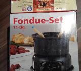 Fondue 11- tlg Set + Flüssig Oel gratis - Verden (Aller)