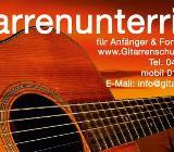 Gitarrenunterricht / Gitarrenlehrer in Weyhe - Weyhe