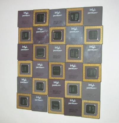 Intel Pentium  I  Keramik Processoren - Bremerhaven