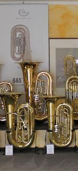 Melton Fafner Tuba in BBb, Mod. 195 - L aus dem Hause Meinl Weston. Profiklasse. Neuware - Bremen Mitte