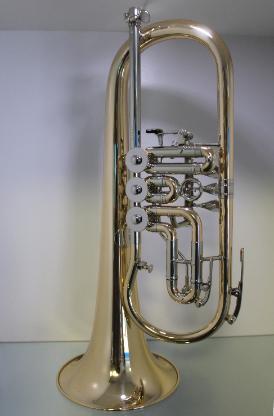 Melton Meisterwerk Konzert Flügelhorn. Goldmessing Sonderanfertigung. Neuware - Bremen Mitte