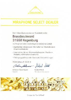 Miraphone 91A Goldmessing Tuba in BBb inkl. Miraphone Gigbag. Neuware - Bremen Mitte