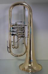 Melton Meisterwerk Konzertflügelhorn. Goldmessing Sonderanfertigung. Neuware