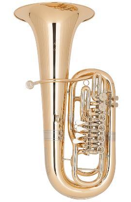 Miraphone Belcanto F - Tuba, 6 Ventile, Goldmessing inkl. Gigbag, Neuware - Bremen Mitte