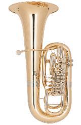 Miraphone Belcanto F - Tuba, 6 Ventile, Goldmessing inkl. Gigbag, Neuware