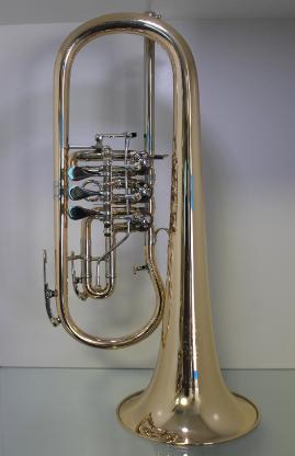 Melton Ideal Konzert Flügelhorn 124T - L. Egerländer Musikantenmodell aus Goldmessing. Neuware - Bremen Mitte