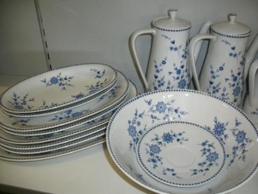 Seltmann Weiden Porzellan – Doris Bayerisch Blau Sammelposition NEU - Wagenfeld