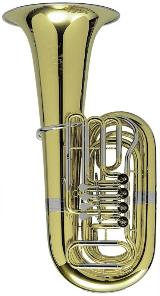 Melton / Meinl Weston 25 Tuba in BBb. 4/4 Größe. Handarbeit - Made in Germany