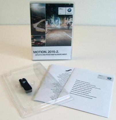 BMW NAVI-Software UPDATE ROAD MAP EUROPE WEST MOTION.2015-2 auf USB-Stick - Oyten