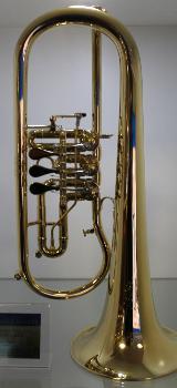 Melton Meisterwerk Profiklasse Konzert - Flügelhorn. Mod. MWF 12T-AU. Echt vergoldet. Neuware - Bremen Mitte