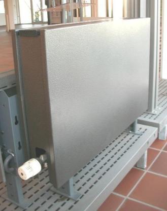 Heizkörper Jaga Linea Plus Anthrazit, 800x130x500mm, Ausstellungsstück, freistehende Montage - Wagenfeld