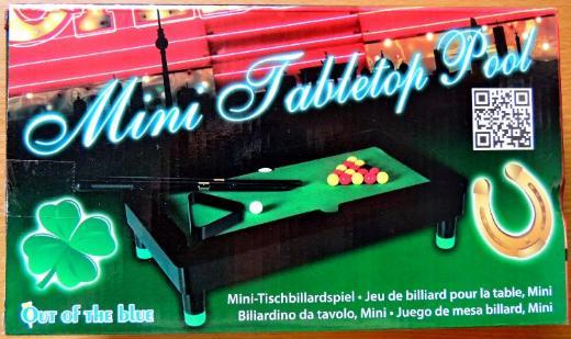 Mini-Tischbillard-Spiel, komplett mit allem Zubehör - Unbenutzt in der OVP! - Diepholz