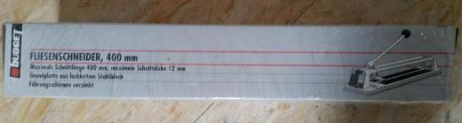 """Budget Fliesenschneidmaschine 400 mm """" NEU """" - Verden (Aller)"""