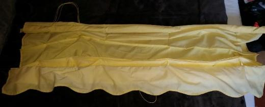Gelbes Raffrollo Größe: 170 cm H x 140 cm B - Verden (Aller)