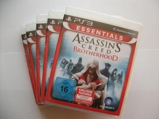 "6 PS3-Spiele ""Assassin`s Creed Brotherhood"" (Neuware) - Wagenfeld"