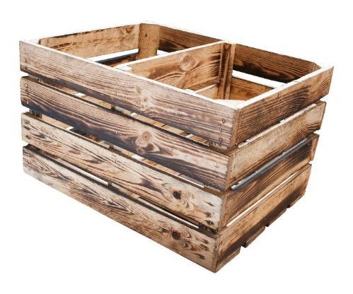geflammtes Regal Apfelkisten für Küche, Büro und Bad - Bremen