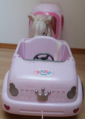 Baby Born Auto + Pferdeanhänger und Pferd - Verden (Aller)