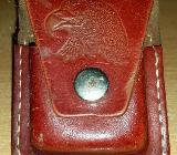 Original Zippo Feuerzeug Tasche Made in USA, Farbe braun - Verden (Aller)