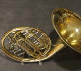 Hans Hoyer Bb / F Waldhorn / Doppelhorn, 5 Ventile inkl. Koffer - Bremen Mitte