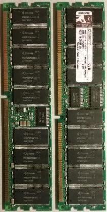 1 GB Kingston KVR266X72RC25/1024 266MHz DDR ECC Registered CL2.5 DIMM 1024MB - Oyten
