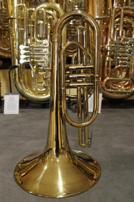 Orig. Vincent Bach U.S.A. F - Mellophon mit Koffer - Bremen Mitte