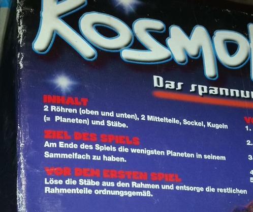 Kosmokado MB Spiel 5+ Jahre für 2-4 Spieler - Verden (Aller)