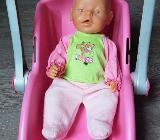 Baby Born Puppe,Maxi Cosi,Autositz,Trageschale von Zapf Creation - Verden (Aller)
