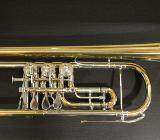 Hermann Schmidt Markneukirchen Konzert - Trompete, New Old Stock, inkl. Koffer und Mundstück