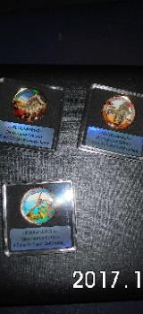 2 Euro Münzen mit Dinosauriermotiven - Bremen