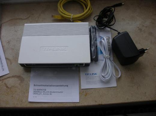 TP-LINK WLAN-Modemrouter und Receiver - Ganderkesee
