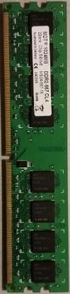 1GB MDT DDR2-667 RAM PC2-5300U M924-667-16 - Oyten