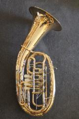 Melton Meisterwerk Bariton MWB34-L mit Trigger und Handstütze. Neu