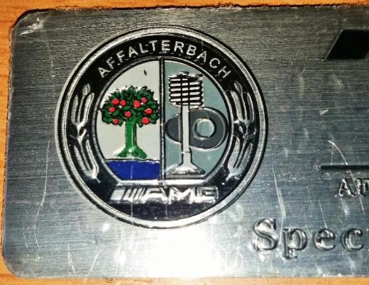 AMG Sticker Logo Schriftzug Emblem B,E,C,SL,CLS,S,CL,A,G - Verden (Aller)