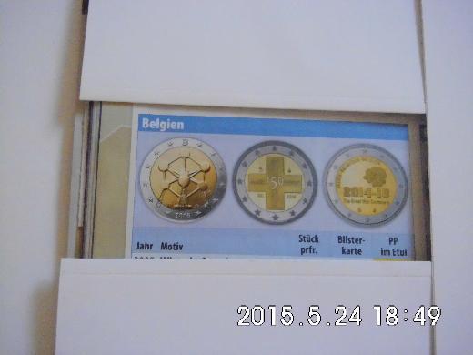 2 Euro Belgien 2008 - Bremen
