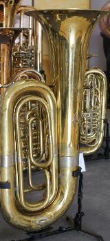 B - Tuba, 4 Zylinderdrehventile, gebraucht - Bremen Mitte