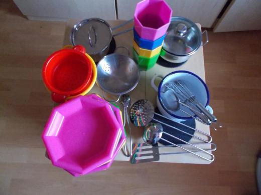 Vollholz Spielküche NEU ! mit Viel Zubehör ! - Edewecht