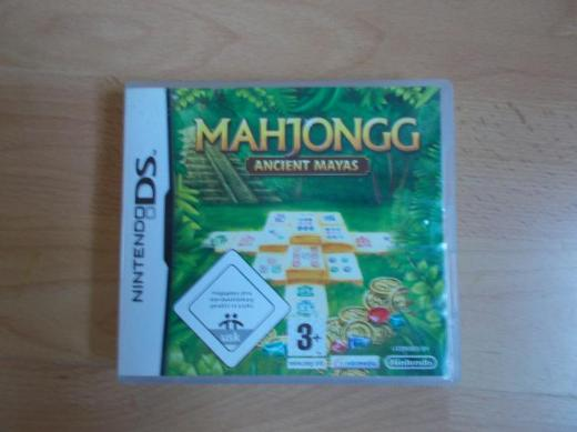 "Nintendo Ds / Dsi Mahjongg Spiel "" Ancient Mayas "" - Edewecht"
