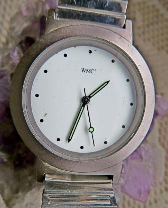 "Für alle Tage: ""WMC"" Edelstahl-Armbanduhr mit Flexo-Armband, ansehen! - Diepholz"