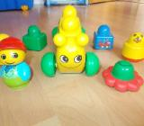 Kleines Lego Primo Raupen Set - Edewecht