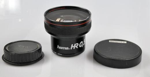 Hama Video Weitwinkel-Objektiv HR 0,5 - Achim