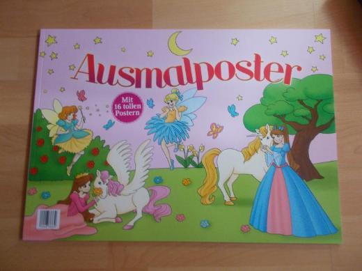 Feehn / Prinzessin Ausmal Rolle / Poster - Edewecht