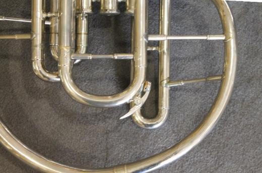 Kühnl & Hoyer F und Eb / Es - Mellophon mit Koffer - Bremen Mitte