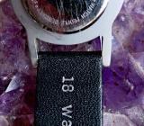 Edelst.-Damen-Markenuhr, Echtleder-Armband, top Design, gepflegter Zustand! - Diepholz