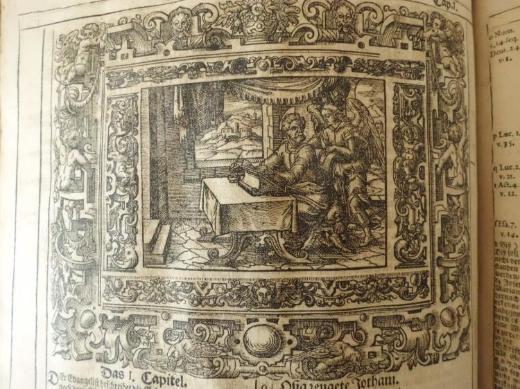 Lutherbibel von 1695 !  Für nur 650 € ! - Bremen
